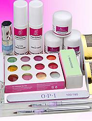 11sets Maniküre-Tools auf Basis Nagelnagelpflege Lichttherapie-Rüstungen