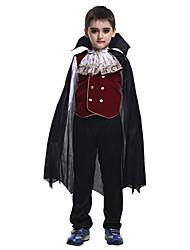 Costumes de Cosplay / Bal Masqué / Costume de Soirée Esprit / Zombie / Vampire Fête / Célébration Déguisement Halloween Rouge / Noir