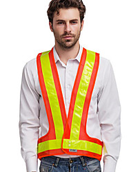 SFBest Reflective Vest v-vest / Reflective Clothing and Safe Cycling Road Speed Highways Sanitation Lattice Cothes