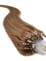 Best Selling Micro Bead Hair Extension 16-24Inch 7A Micro Loop Ring  Hair Nature Straight Human Hair 100% Pure Human Hair Extensions