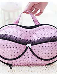 Anti Pressure Shaping Bra Bag Portable Travel Bra Storage Box / Underwear Storage Bag