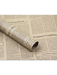 flores papel de embrulho de papel 72 centímetros * 52 centímetros de papel kraft papel do vintage papel de embrulho Inglês