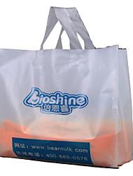 sacs à main imprimés personnalisés sacs sacs sacs de gilet logo personnalisé de vêtements cadeaux épais personnalisé pe un pack de dix