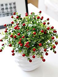 Hi-Q 1Pc Decorative Flower  Bacca Wedding Home Table Decoration Artificial Flowers