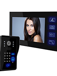многофункциональная разблокировать HD ночного видения непромокаемые дверного звонка (7 дюймов)