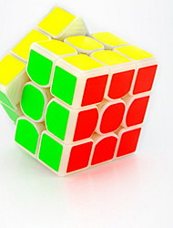 / Smooth Speed Cube 3*3*3 / Magic Cube Rainbow Plastic