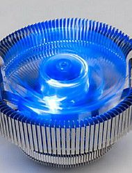 version lueur bleue d'un ordinateur ventilateur de radiateur cpu desktop mute intel775 amd / 1150/1155