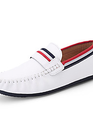 Men's Loafers & Slip-Ons Spring / Fall Comfort PU Casual  Black / Blue / Yellow / White / Royal Blue Walking
