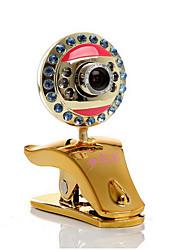 usb2.0 800w pixel vue de nuit hd bureau caméra ordinateur webcam