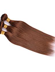 Precolored ткет волос Малазийские волосы Прямые 12 месяцев 3 предмета волосы ткет