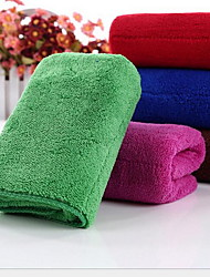 Superfine Fibre Injectivity Coral Fleece Towel Dry Hair Towel
