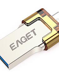 Eaget V80-32G 32 Гб USB 3.0 Водостойкий / Ударопрочный / Компактный размер / Поддержка OTG (Micro USB)