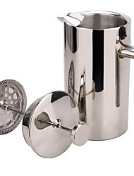 Stainless Steel Tea Pot Coffee Pot Heat Insulation Pot (350ml)