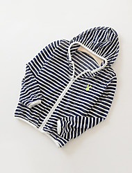 Girl's Casual/Daily Striped Suit & Blazer,Cotton Summer Black / Green / Pink / White
