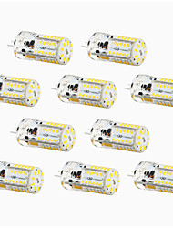 4W G4 Luces LED de Doble Pin T 57 SMD 3014 300-450 lm Blanco Cálido / Blanco Fresco / Blanco Natural Decorativa / Impermeable DC 12 V10