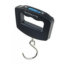 бытовые портативные электронные весы (максимальный вес: 50 кг, крюк типа)