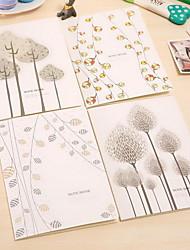 Creative Stationery B5 Cute Cartoon Large Notebook School Supplies Student Book(Random Colors)