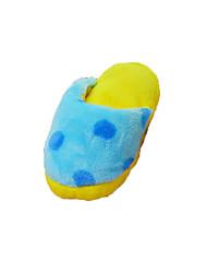 Gatos / Perros Juguetes para Mascotas Juguetes Crujientes Chirrido Azul Felpa