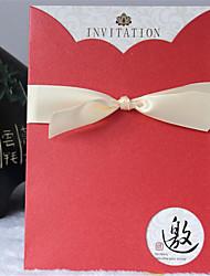 De haute qualité haut de gamme invitation d'affaires carte d'anniversaire de mariage chinois idées d'invitation invitations d'invitation
