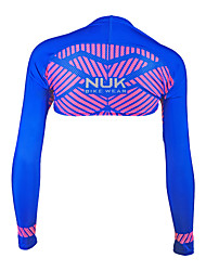 Tops Bike Breathable / Ultraviolet Resistant / Sunscreen Women's Blue Polyester