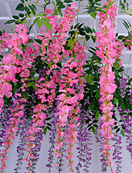 Hi-Q 1Pc Decorative Flower Wisteria Wedding Home Table Decoration Artificial Flowers