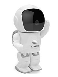 960p câmera ip robot baby monitor hd wi-fi 1.3MP CMOS CCTV sem fio câmera de segurança p2p PTZ ir visão noturna cartão SD áudio tf
