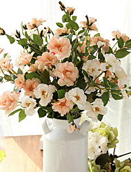 Hi-Q 1Pc Decorative Flower China Rose Flower Wedding Home Table Decoration Artificial Flowers