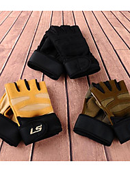 Men And Women Riding Electric Bicycle Motorcycle Outdoor Gym Wrist Anti-Skid Sunscreen Winter Half Gloves