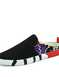 Men's Sneakers Spring / Summer / Fall / Winter Comfort Canvas Outdoor / Athletic / Casual Flat Heel Slip-on