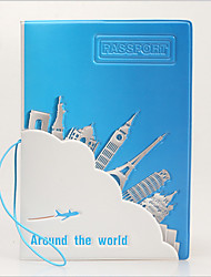 Travel Around The World In The World Of Fashion Exquisite Passport Holder Pvc Document Protection
