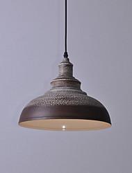 5 Lámparas Colgantes ,  Cosecha Pintura Característica for Mini Estilo MetalDormitorio / Comedor / Habitación de estudio/Oficina /