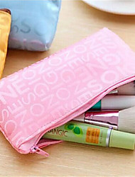 Fashion Makeup Bag  Letters Cute Makeup Pen Bag