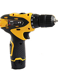 12V Power Lithium Battery Cordless Drill(Plug-in  AC - 220V)