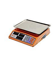 águila balanzas electrónicas de color rojo con un peso de 30 kg escala de precios, dicho de los productos básicos (rojo venta TextoSI