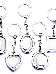 Mini Cute Couple Photo Frame Key Chain (Random Shape)