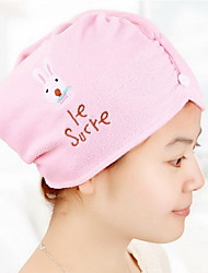 Rabbit Dry Hair Cap Thick Dry Hair Cap Microfiber Super Absorbent Towel
