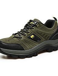 Femme-Décontracté-Marron / Vert / Gris-Talon Plat-Confort-Sneakers-Tulle