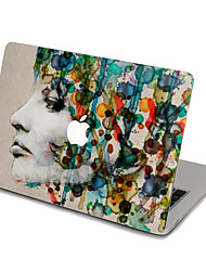 MacBook Front Decal Sticker Sad Gril  For MacBook Pro 13 15 17, MacBook Air 11 13, MacBook Retina 13 15 12