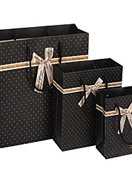 Korean Factory Direct Black Spots Gift Bags / Bag / Bag / Bags / Gift Bags Wholesale A Pack Of Five