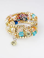 Bracelet Wrap Bracelet Alloy Irregular Fashion Wedding / Party / Daily Jewelry Gift Gold,1pc