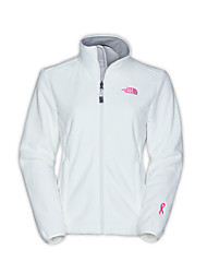 The North Face Women's OSITO Pink Ribbon Denali Fleece Jacket Outdoor Sports Trekking Running Full Zipper Jackets