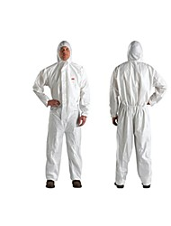 3M 4515 Protective Clothing Chemical Protective Clothing Painting Clothes Dust-Piece White Cap