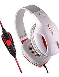 Sades SA701 Casques (Bandeaux)ForLecteur multimédia/Tablette / OrdinateursWithAvec Microphone / DJ / Règlage de volume / Radio FM / Jeux