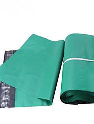 толстый зеленый курьерские пакеты 28 * 42/38 * 52 пластиковые мешки для упаковки можно подгонять пачку сто