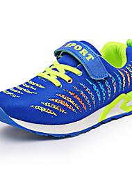Boy's Sneakers Spring / Fall Comfort / Round Toe PU Athletic Flat Heel Slip-on Black / Purple / Royal Blue Sneaker
