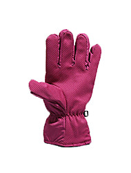 Cycling Gloves / Ski Gloves Winter Gloves Unisex Keep Warm / Waterproof Snowboarding Red Cotton / PU Free Size