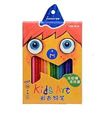 Criança super suave cor grafite estudantes de chumbo lápis de cor 36 cores de pintura
