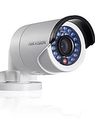 hikvision® mini caméra ip bullet ds-2cd2035-i 6mm lentille H.265 3MP ip67 la version jour / nuit multi-langue
