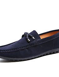 Men's Loafers & Slip-Ons Moccasin Leatherette Office & Career Flat Heel Slip-on More Color EU39-43