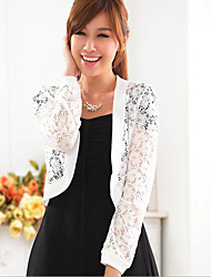 Women's Going out / Casual/Daily / Formal Simple / Cute Short Cardigan